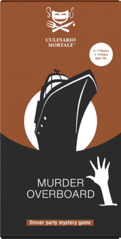 Link to menu suggestion for Murder Overboard